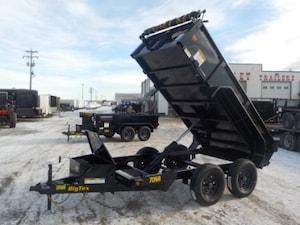 2019 Big Tex Trailers 70SR-10-5WDD DUMP W/7000# GVWR