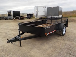 2018 Canada Trailers UT610-3K Single Axle Utility W/2995# GVWR