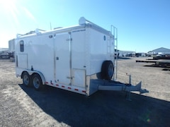 2015 Wells Cargo 8 X 16 W/7000# TORSION AXLE