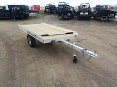 2019 Aluma 8605/13 Snowmobile Trailer W/1200# TORSION AXLE