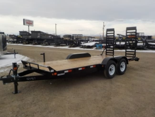 2018 Canada Trailers ES718-14K EQUIPMENT TRAILER W/14000# GVWR