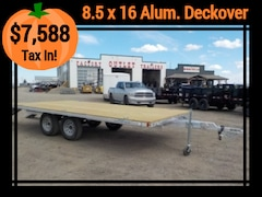 2019 Alcom UDO101x16-L DECKOVER TRAILER W/7000# GVWR