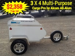 2018 Cargo Pro CMT3x4 MULTI-PURPOSE W/1000# TORSION AXLE