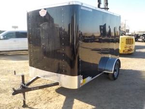 2019 Cargo Mate 6 X 10 CARGO W/3500# AXLE
