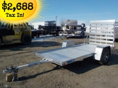 2018 Alcom U54x10RA-2.0 Utility Trailer W/2200# TORSION AXLE