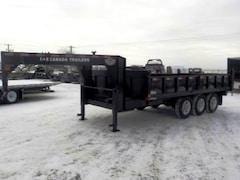2018 Canada Trailers GN-DT816-21KTR DUMP W/21000# GVWR