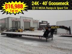2019 Big Tex Trailers 22GN-35+5MR GOOSENECK W/23900# GVWR