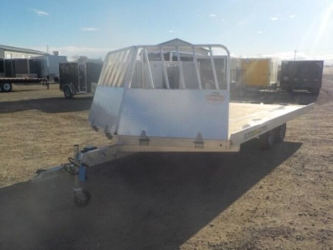 2019 Aluma 8618/13 Snowmobile Trailer W/2200# TORSION AXLE