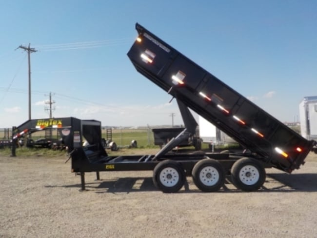 2018 Big Tex Trailers 21GX-16 DUMP W/21000# GVWR