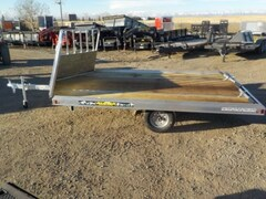 2019 Aluma 8612D/13 Snowmobile Trailer W/2200# TORSION AXLE