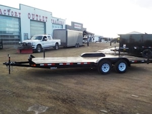 2018 Canada Trailers ES720-7K CAR/EQUIPMENT TRAILER W/7000# GVWR