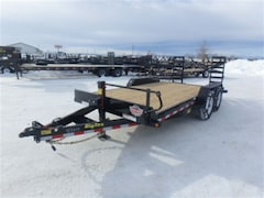 2018 Big Tex Trailers 14ET-16-KR EQUIPMENT TRAILER W/14000# GVWR