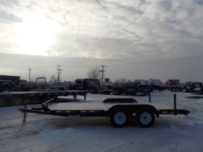 2018 Canada Trailers ES716-7K CAR/EQUIPMENT TRAILER W/7000# GVWR