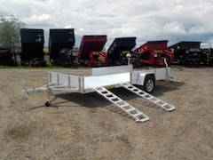 2019 Aluma 8114SR UTILITY TRAILER W/3500# TORSION AXLE