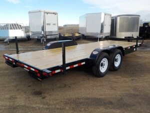 2018 Canada Trailers ES720-14K EQUIPMENT TRAILER W/14000# GVWR
