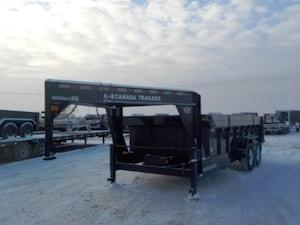 2018 Canada Trailers GN-DT8316-14K DUMP W/14000# GVWR