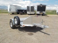 2019 Aluma MC2F FOLDING MOTORCYCLE TRAILER W/3500# TORSION AXLE