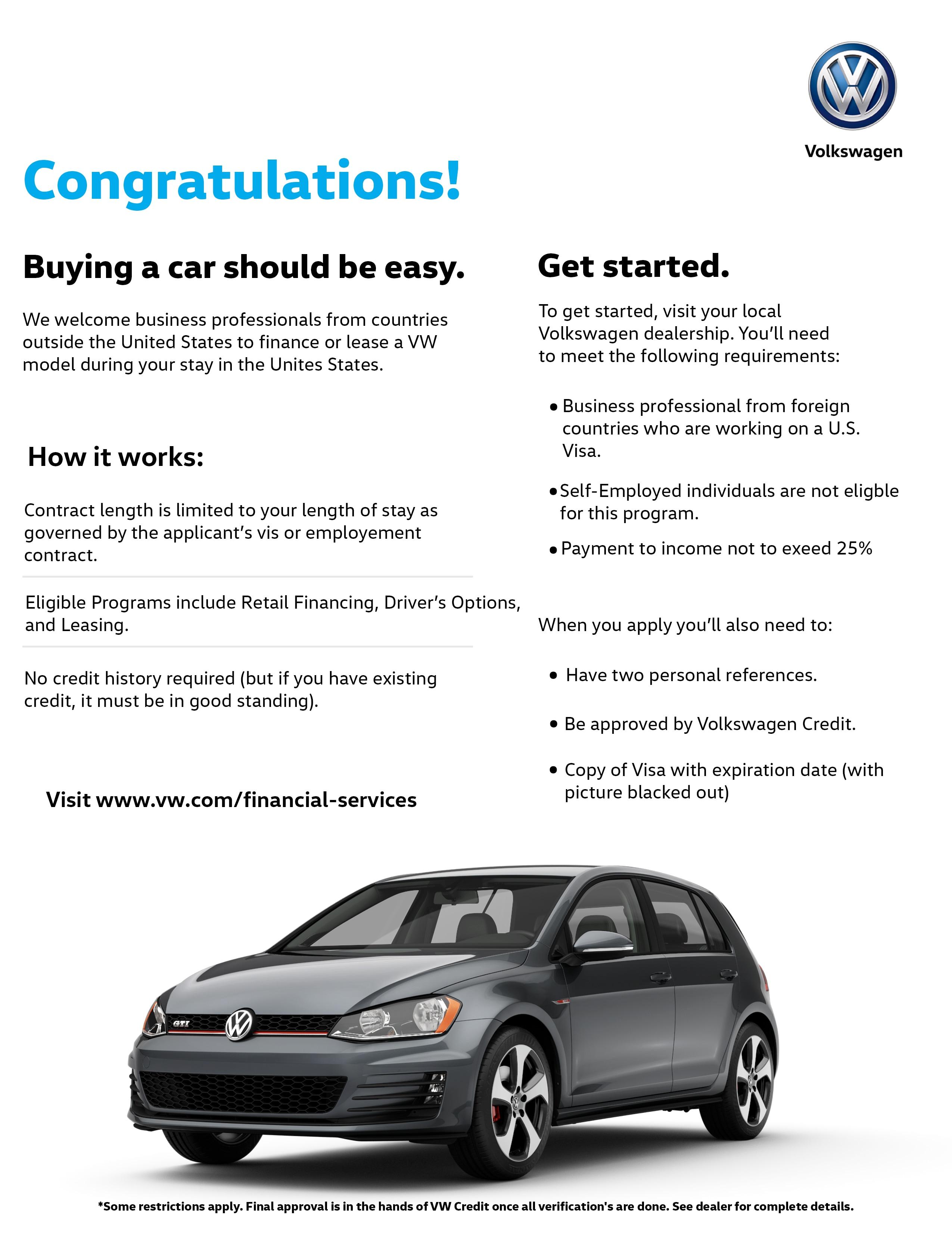 Fairfax Volkswagen New Volkswagen Dealership In Fairfax VA - Volkswagen foreign business professionals plan