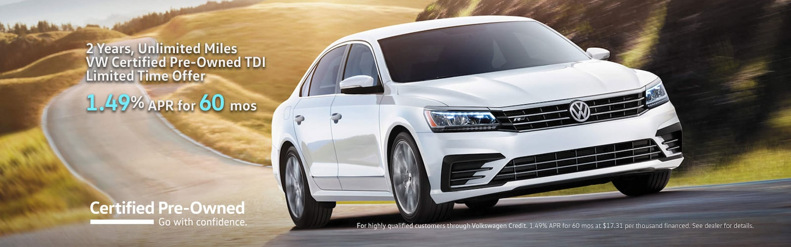 chicago glenview pre near clp il for owned passat cpo jennings sale certified a volkswagen vw