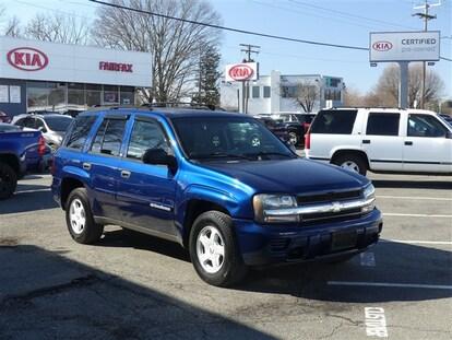 Used 2002 Chevrolet Trailblazer For Sale At Fairfax Kia
