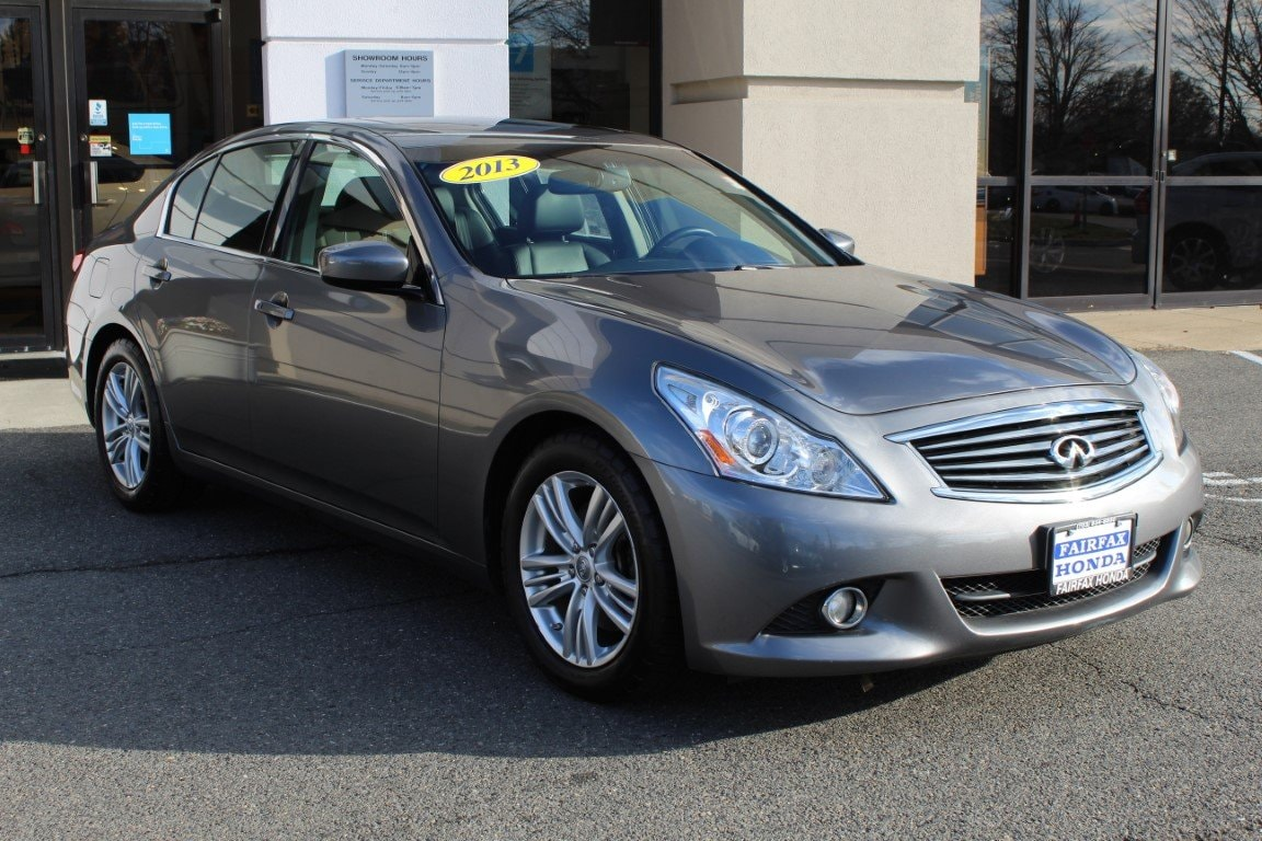 2013 INFINITI G37 Journey with Premium Package Sedan