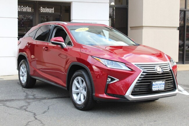 Used 2016 LEXUS RX 350 Base SUV in Fairfax, VA