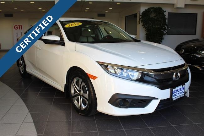 Used 2016 Honda Civic LX w/Honda Sensing Sedan in Fairfax, VA