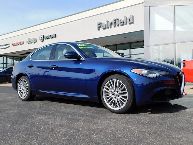 Used 2017 Alfa Romeo Giulia Ti Sedan in Muncy
