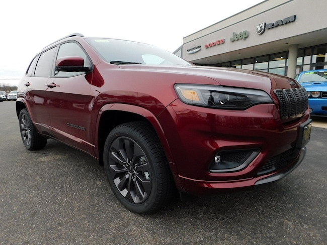 New 2019 Jeep Cherokee HIGH ALTITUDE 4X4 Sport Utility in Muncy