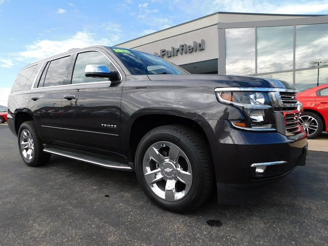Used 2015 Chevrolet Tahoe LTZ SUV in Muncy