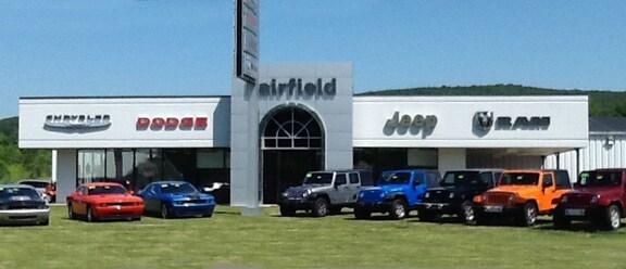 Fairfield Chrysler Dodge Jeep Ram Danville New Chrysler