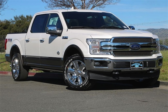 New 2019 Ford F-150 King Ranch Truck SuperCrew Cab Fairfield, CA