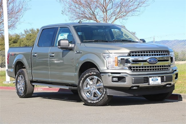 New 2019 Ford F-150 XLT Truck SuperCrew Cab Fairfield, CA
