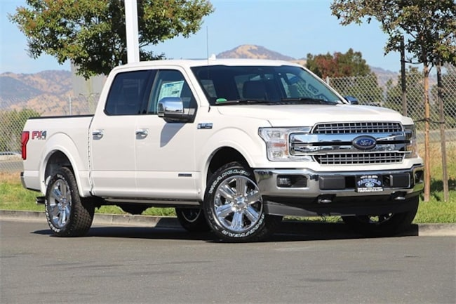 New 2018 Ford F-150 Lariat Truck SuperCrew Cab Fairfield, CA