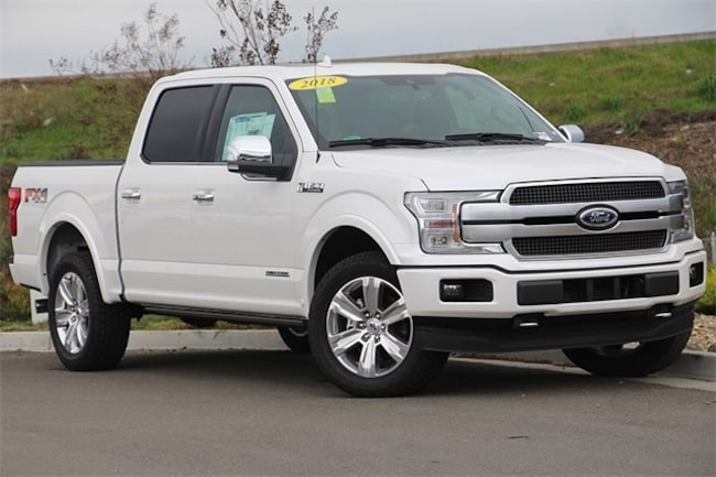 New 2018 Ford F-150 Platinum Truck SuperCrew Cab Fairfield, CA