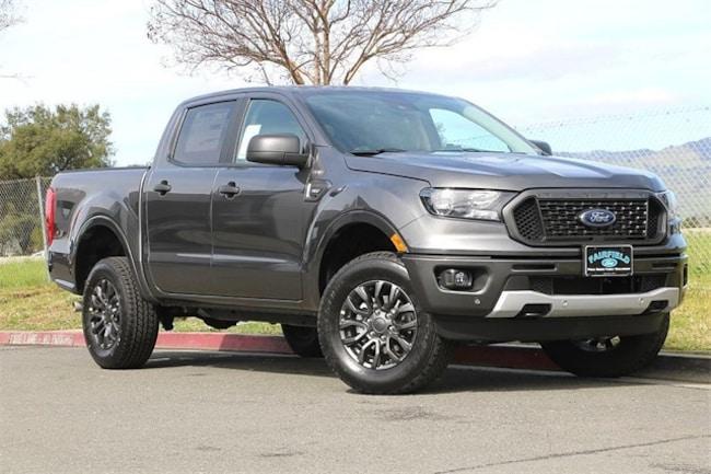 New 2019 Ford Ranger XLT Truck SuperCrew Fairfield, CA