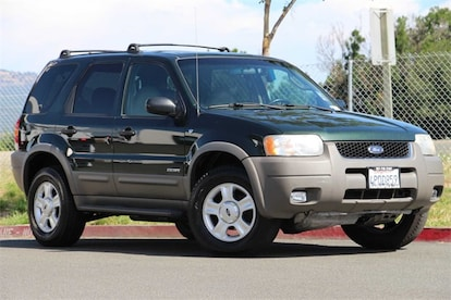 Used 2001 Ford Escape Suv For Sale In Fairfield Ca Near