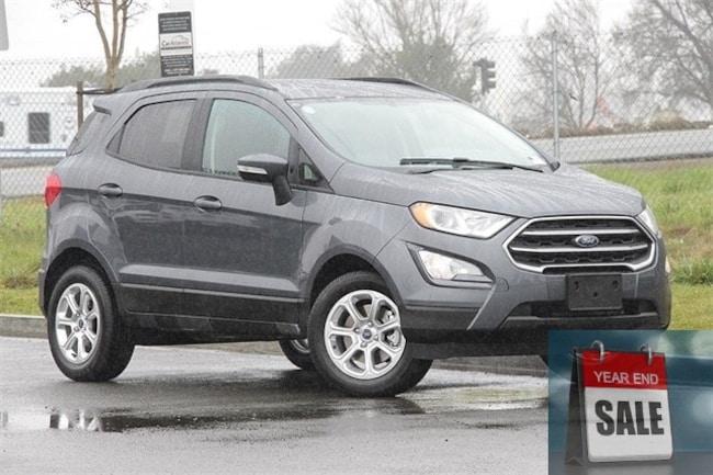 New 2018 Ford EcoSport SE SUV Fairfield, CA