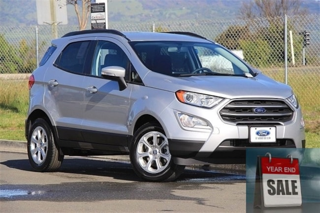 New 2018 Ford EcoSport SE SUV Fairfield, CA