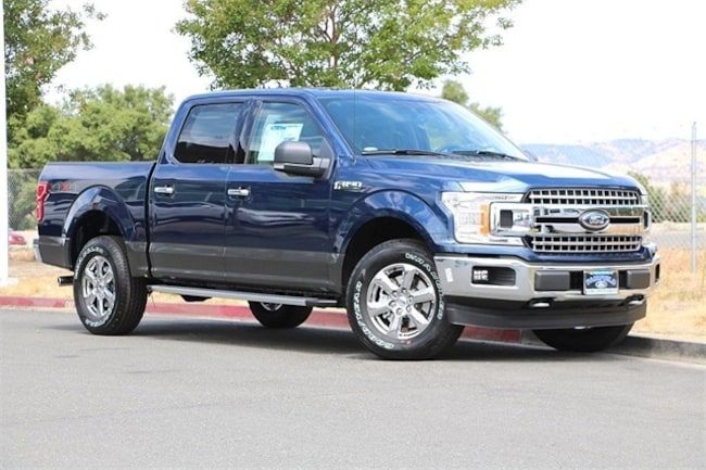 New 2018 Ford F-150 XLT Truck SuperCrew Cab Fairfield, CA