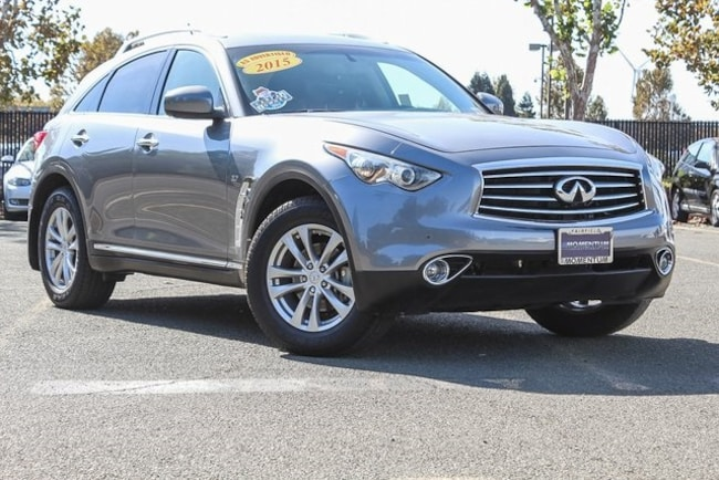 Used 2015 INFINITI QX70 3.7 SUV for sale in Fairfield CA