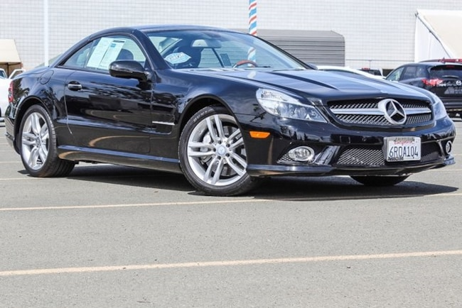 Used 2011 Mercedes-Benz SL-Class SL 550 Convertible for sale in Fairfield CA