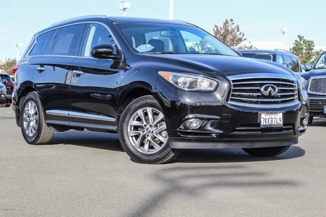 Used 2015 INFINITI QX60 3.5 SUV for sale in Fairfield CA