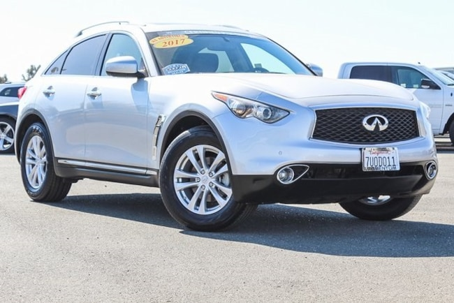 Used 2017 INFINITI QX70 Base SUV for sale in Fairfield CA