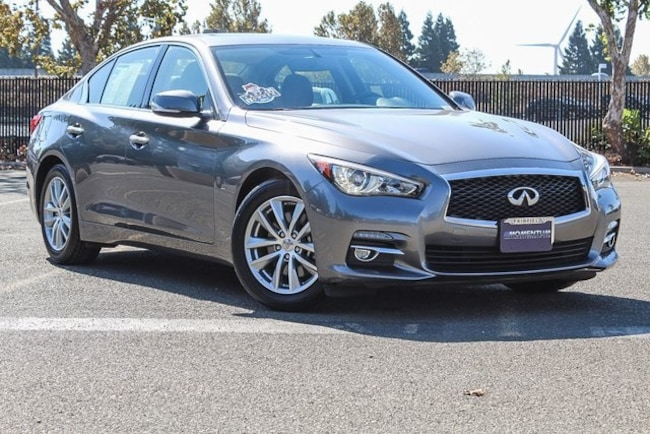 Used 2015 INFINITI Q50 Sedan for sale in Fairfield CA