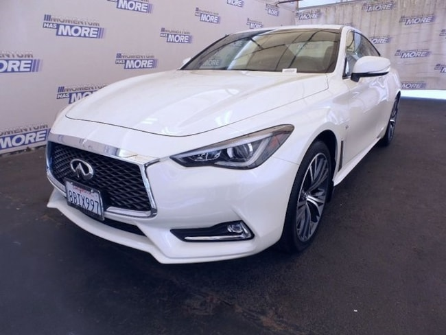 Used 2017 INFINITI Q60 2.0t Coupe for sale in Fairfield CA