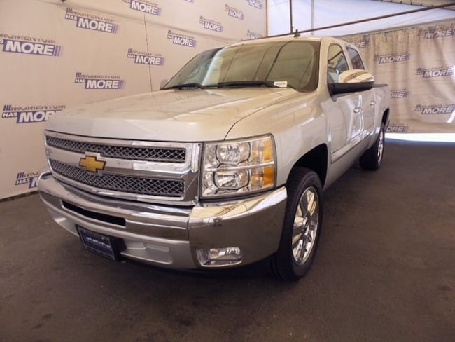 Used 2013 Chevrolet Silverado 1500 LT Truck Crew Cab for sale in Fairfield CA