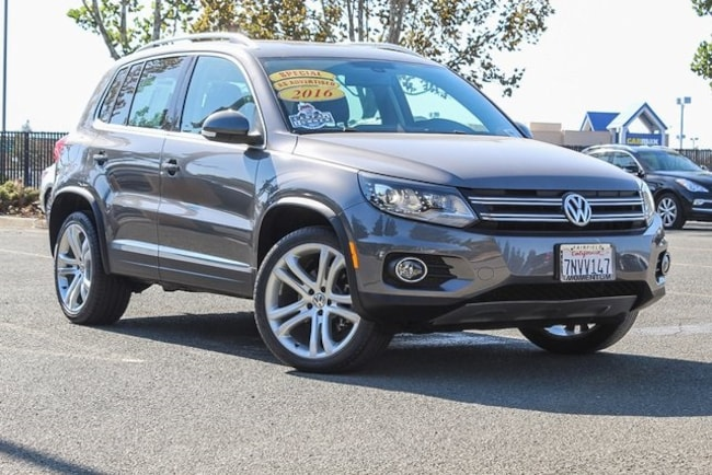Used 2016 Volkswagen Tiguan 2.0T SUV for sale in Fairfield CA