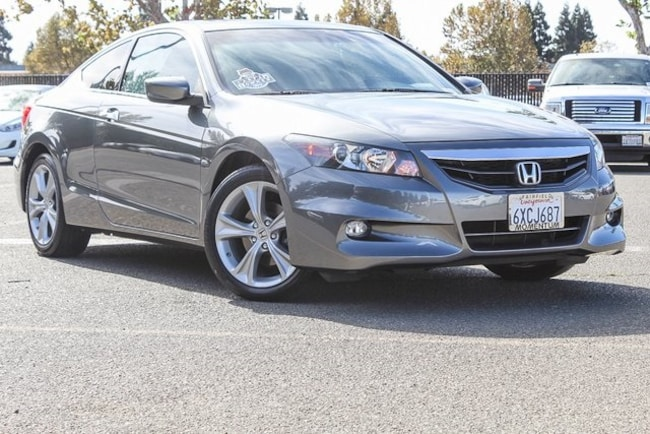 Used 2012 Honda Accord 3.5 EX-L Coupe for sale in Fairfield CA