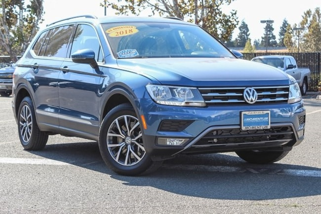 Used 2018 Volkswagen Tiguan 2.0T SUV for sale in Fairfield CA